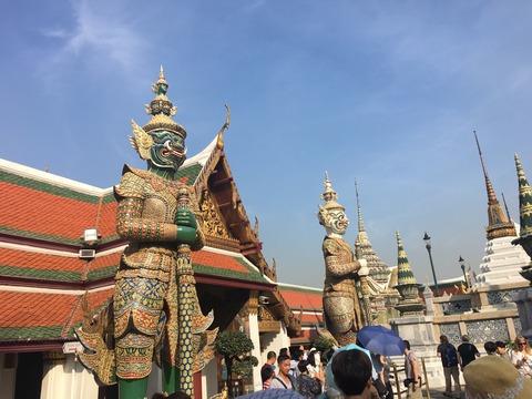2017年1月 初タイバンコク